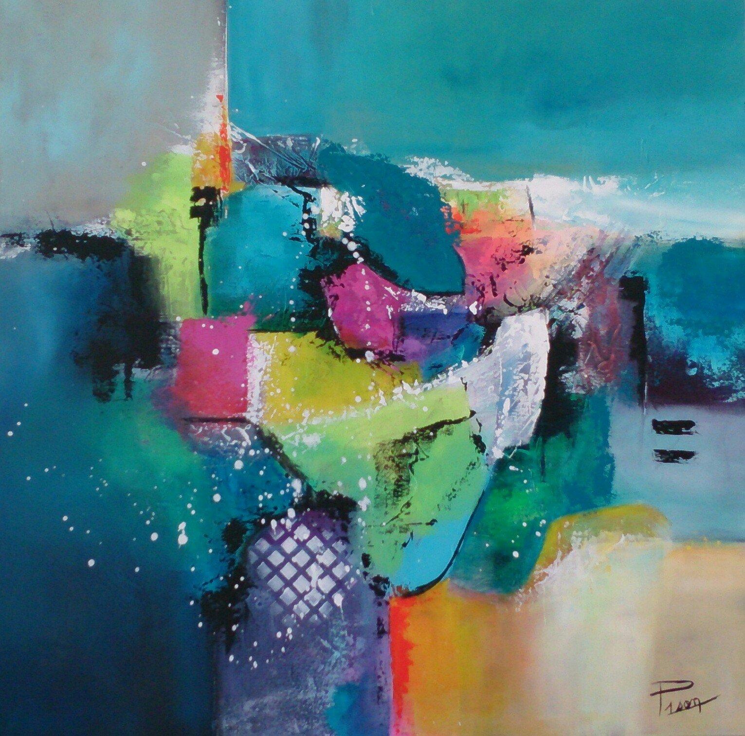 Expression peinte for Peinture pour chambre froide